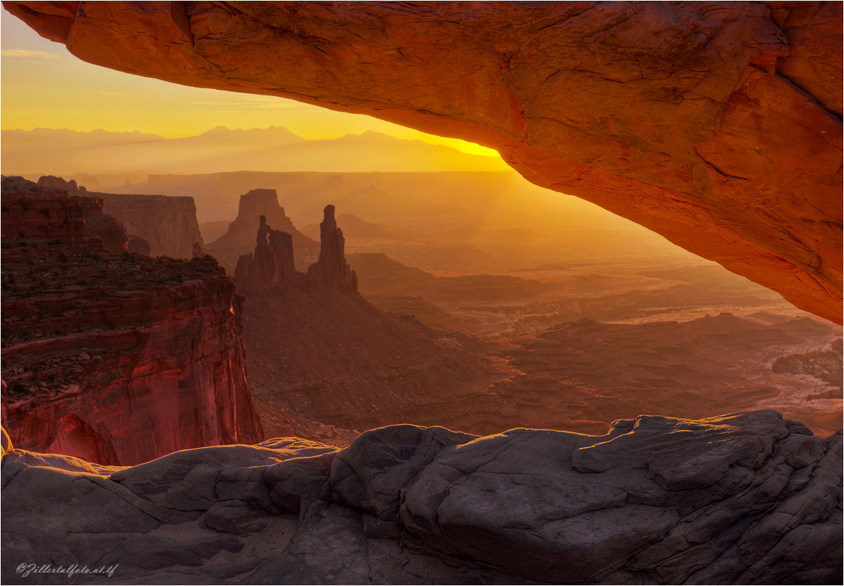Sunrise in the Canyonlands