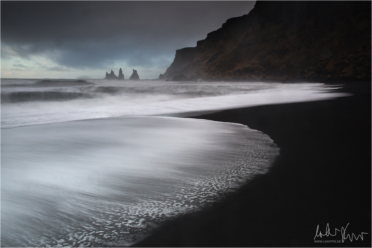 Reynisdrangar Seastacks